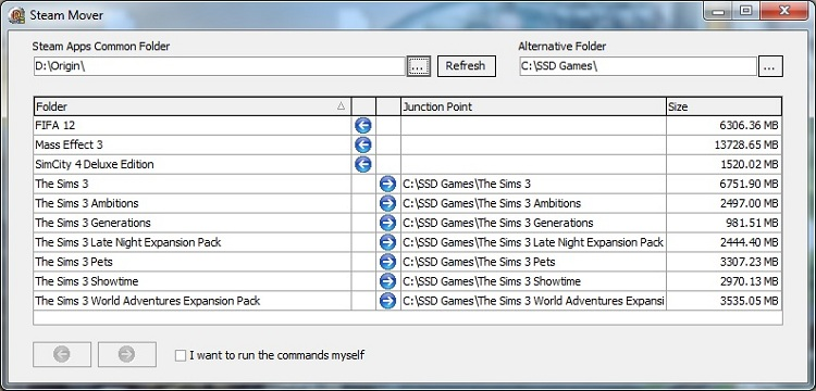 Solid State Drives for Gamers - Steam Mover Example