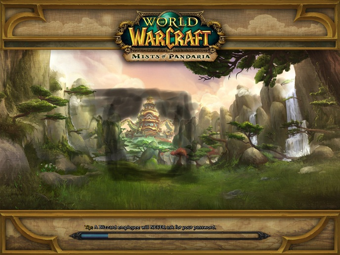 Solid State Drives for Gamers - World of Warcraft Loading Screen