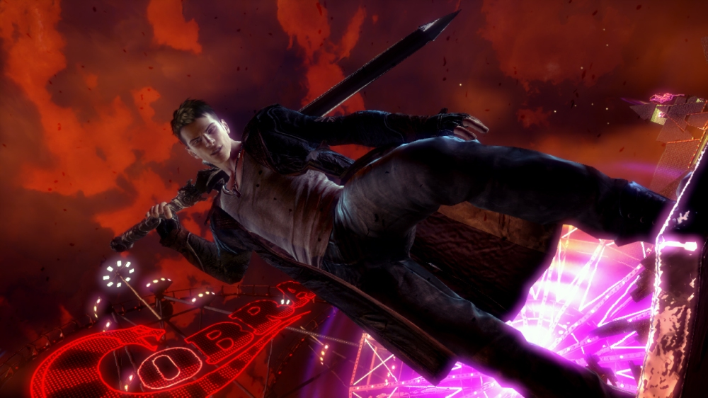 DmC Devil May Cry: You are Dante. Nothing more, nothing less.