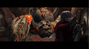 Devil May Cry HD Collection: Devil May Cry Comparison Screenshot (HD)