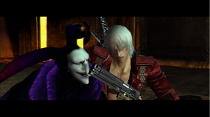Devil May Cry HD Collection: Devil May Cry 3 Comparison Screenshot (HD)