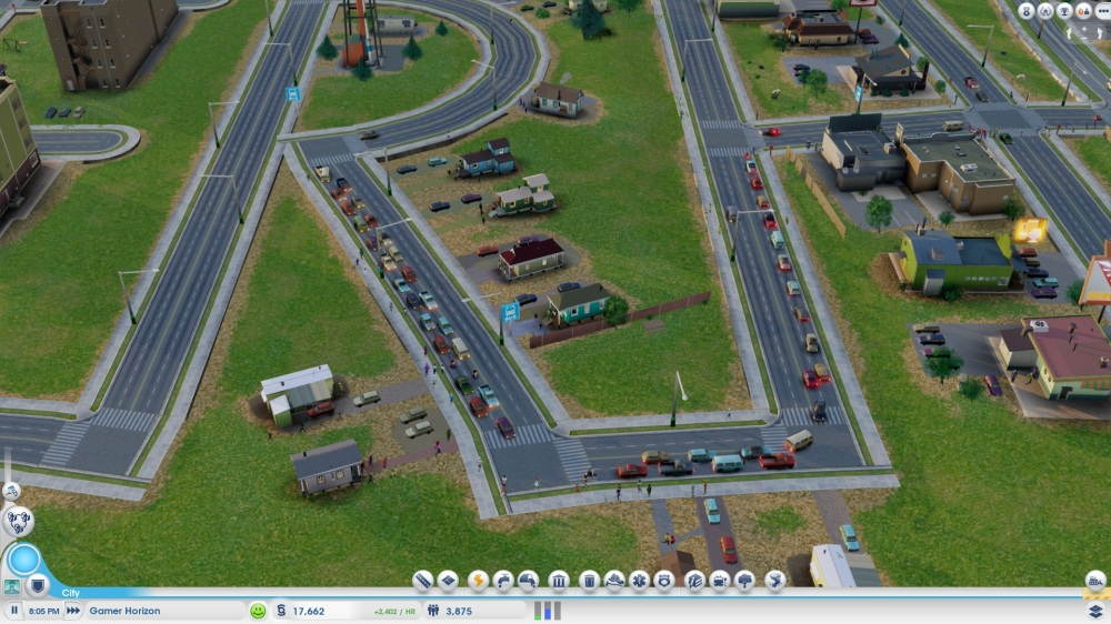 SimCity Closed Beta Impressions: Traffic and Pedestrians