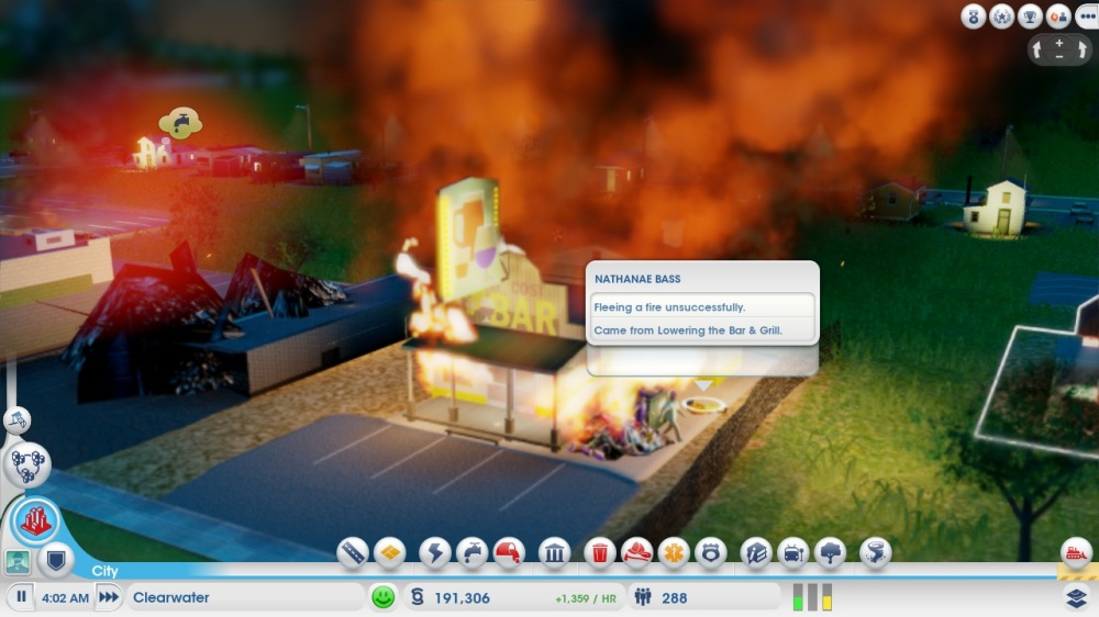 SimCity Closed Beta Impressions: Fire Disaster