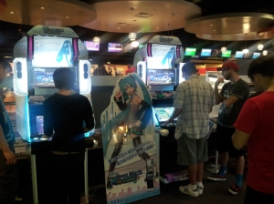 Project Diva at Round 1
