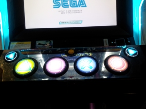 Project DIva arcade buttons