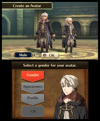 Fire Emblem: Awakening - Character Creation