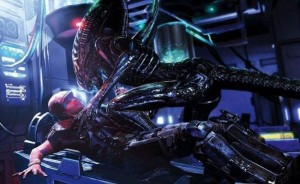 Aliens: Colonial Marines - Wrestling Xenomorphs