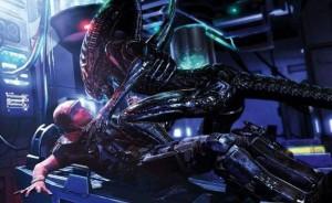 Aliens: Colonial Marines - Wrestling Xenomorphs