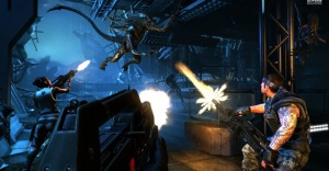Aliens: Colonial Marines - This picture is more fun than the game itself.