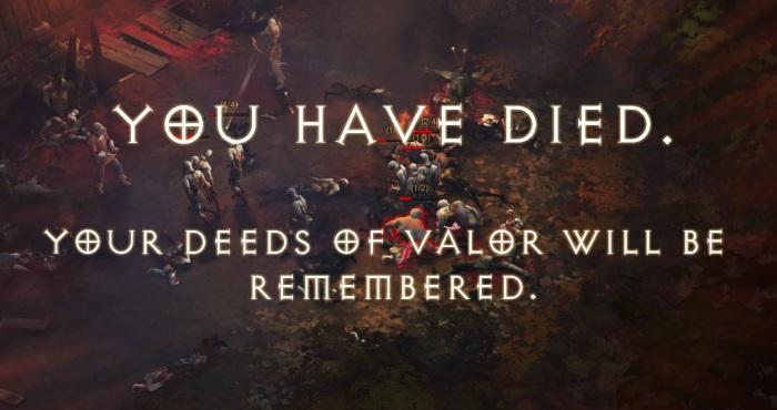 Diablo III - You Have Died