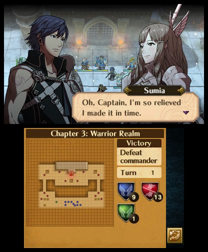 Fire Emblem: Awakening - Just Made It