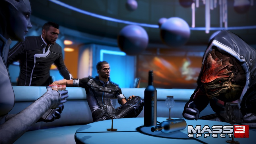 Mass Effect 3: Citidel: Lounge