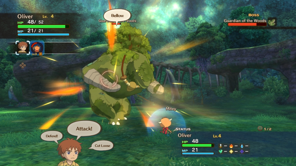 Ni no Kuni: Wrath of the White Witch - Boss