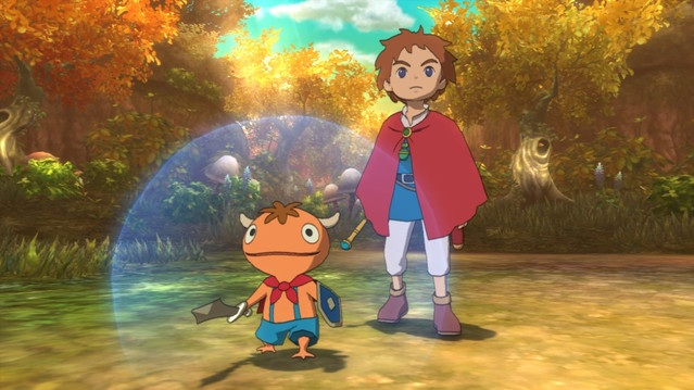 Ni no Kuni: Wrath of the White Witch - Oliver and the Mite Familiar