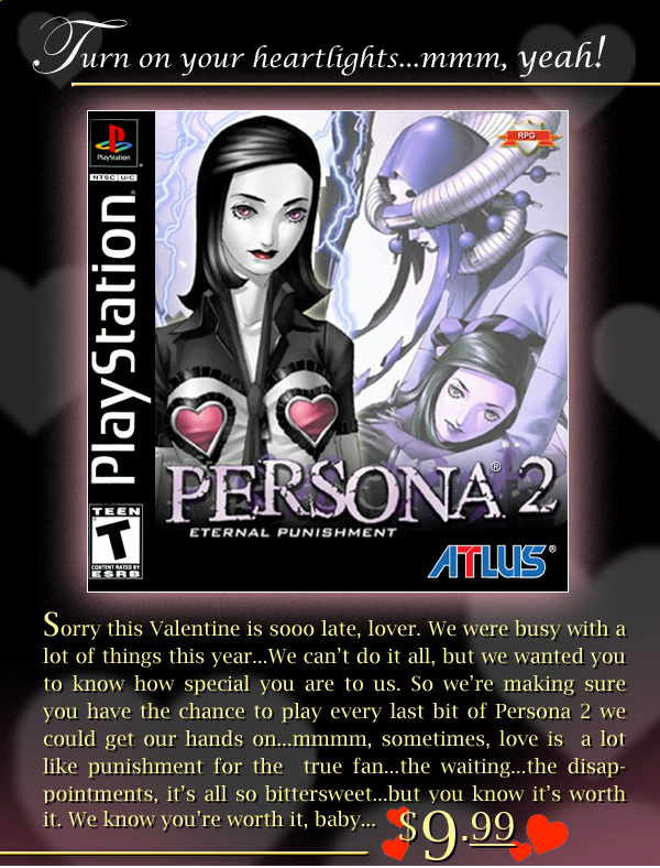 Persona 2: Eternal Punishment - Letter from Atlus
