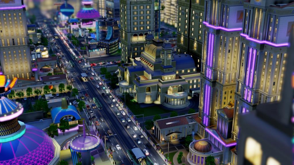 SimCity - Casino Street