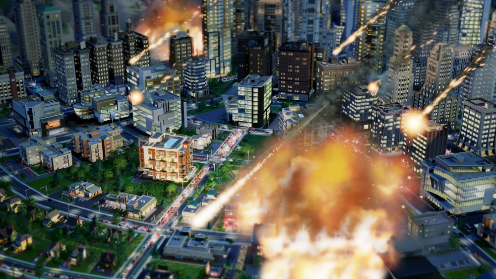 SimCity: Meteor Strike