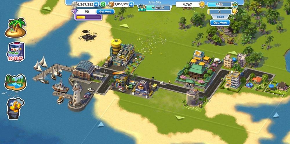 SimCity Social: The Island