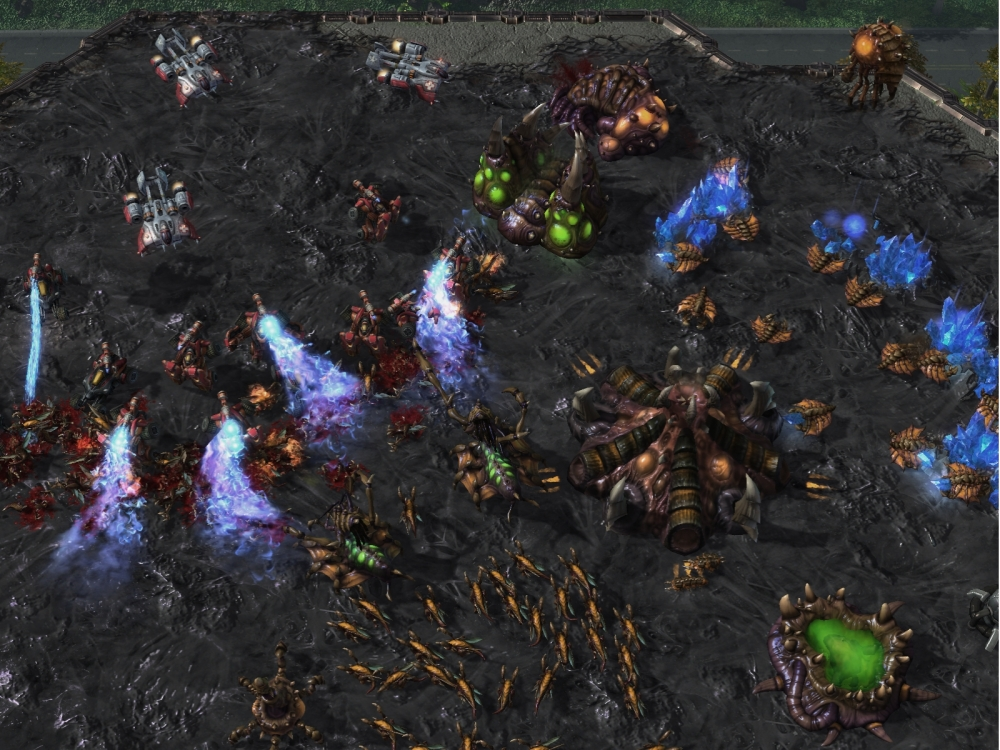 StarCraft II: Heart of the Swarm - Battle