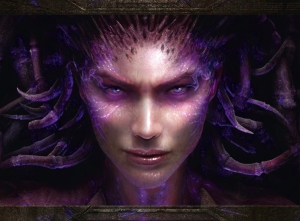 StarCraft II: Heart of the Swarm - Kerrigan