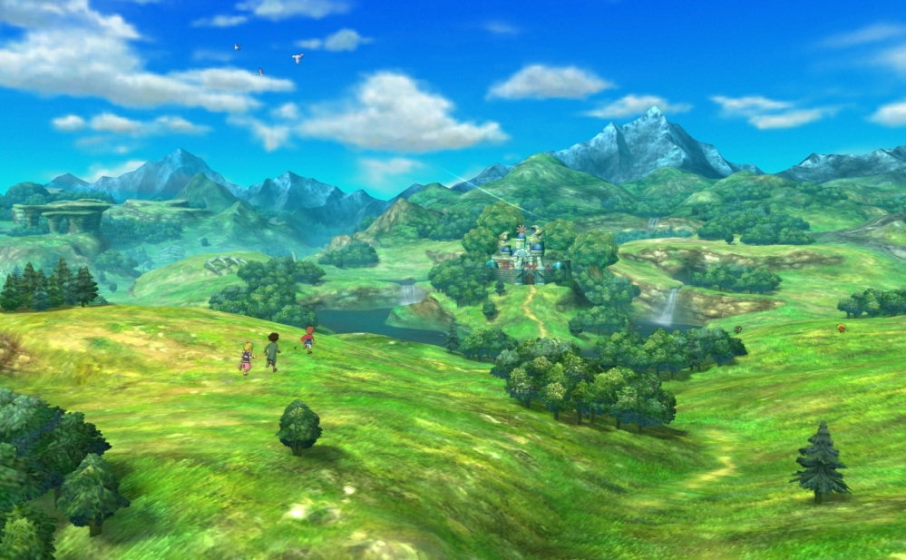Ni no Kuni: Wrath of the White Witch - World Map