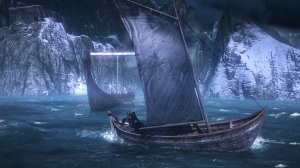 The Witcher 3: Wild Hunt - Boat on the Sea