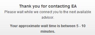 Origin - Waiting for Advisor
