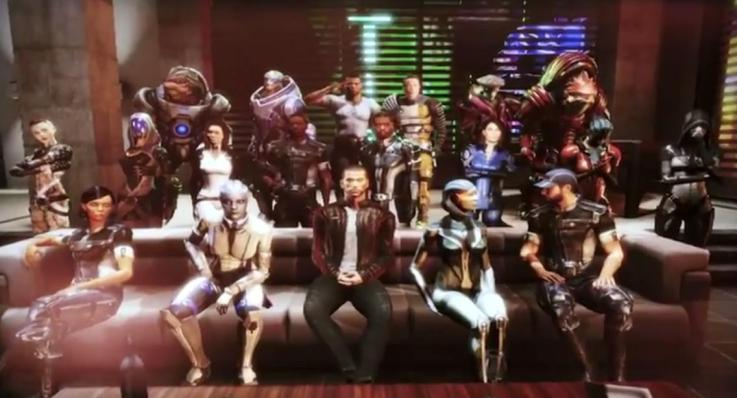 Mass Effect 3: Party