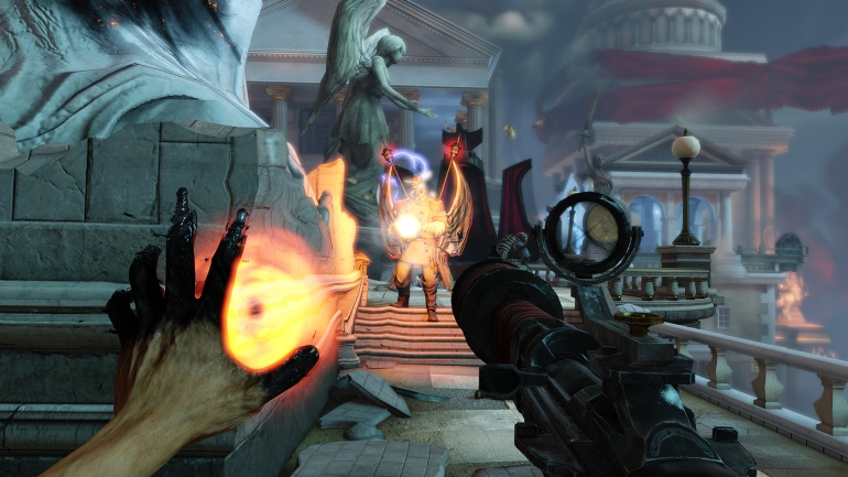 Bioshock Infinite - Patriot Fight