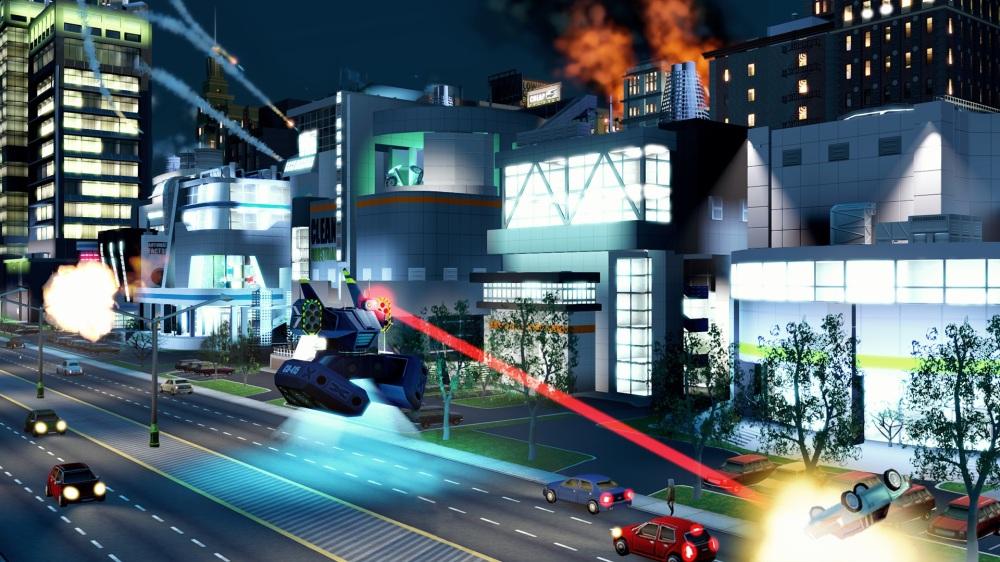 SimCity - Neon