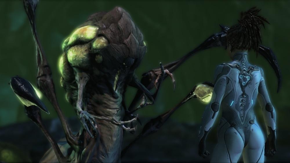 StarCraft II: Heart of the Swarm - Kerrigan and Abathur