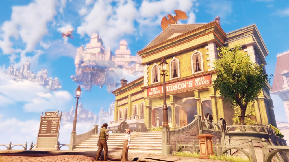 Top 10 Games of the Year 2013 - Bioshock Infinite