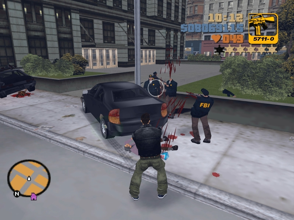 Grand Theft Auto III depicted gruesome deaths way back in 2001 and now it's an issue?