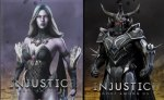 Injustice: Gods Among Us - killer Frost & Ares