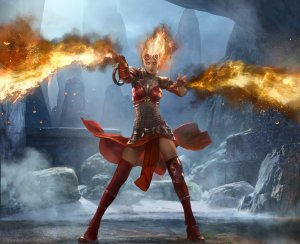 Magic 2014 - Duels of the Planeswalkers Preview - Chandra Nalaar