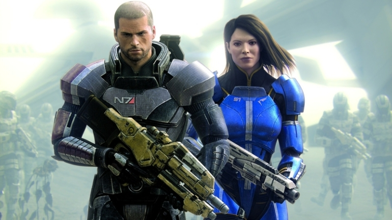 Mass Effect 3 - commander shepard