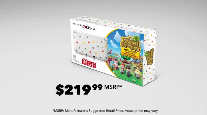 Nintendo Direct - Animal Crossing New Leaf 3DS XL Bundle