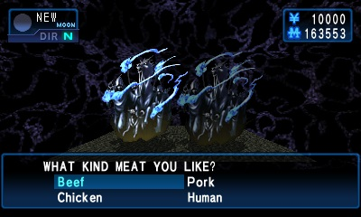 Soul Hackers Review - Meat