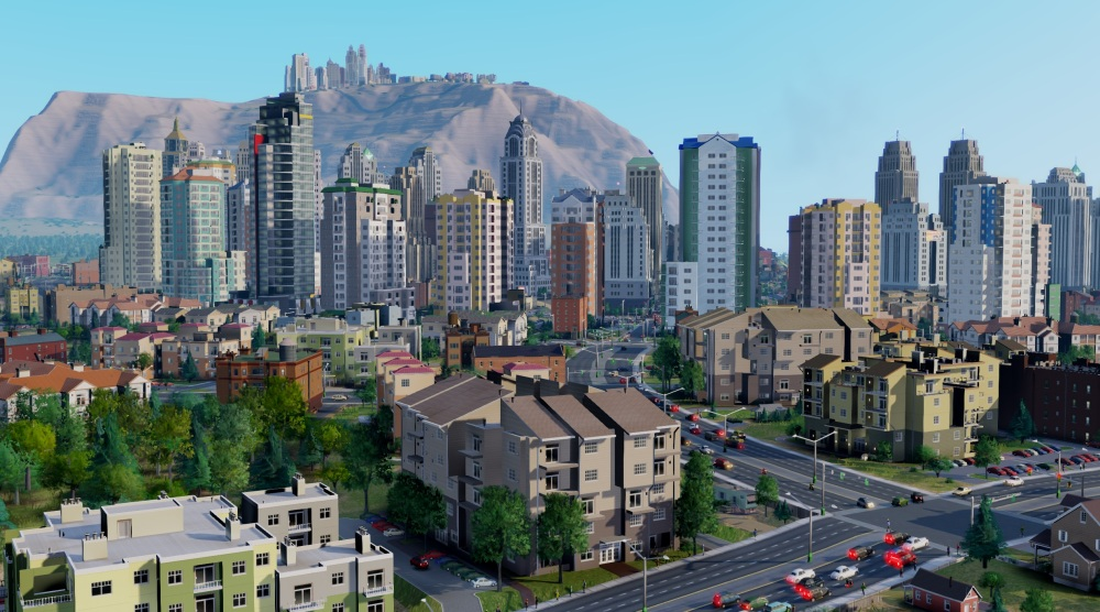 SimCity - Mountain High