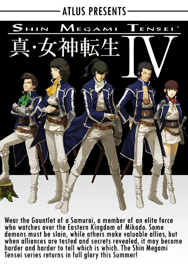 Shin Megami Tensei IV - Faithful Announcement