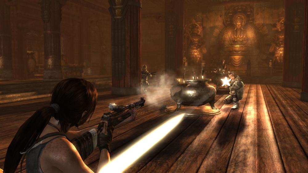 Tomb Raider - Combat