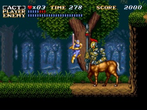 Actraiser - Side Scrolling Action