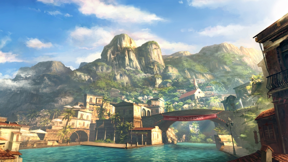 The Island of Palanai is gorgeously rendered and one of the highlights of the game.