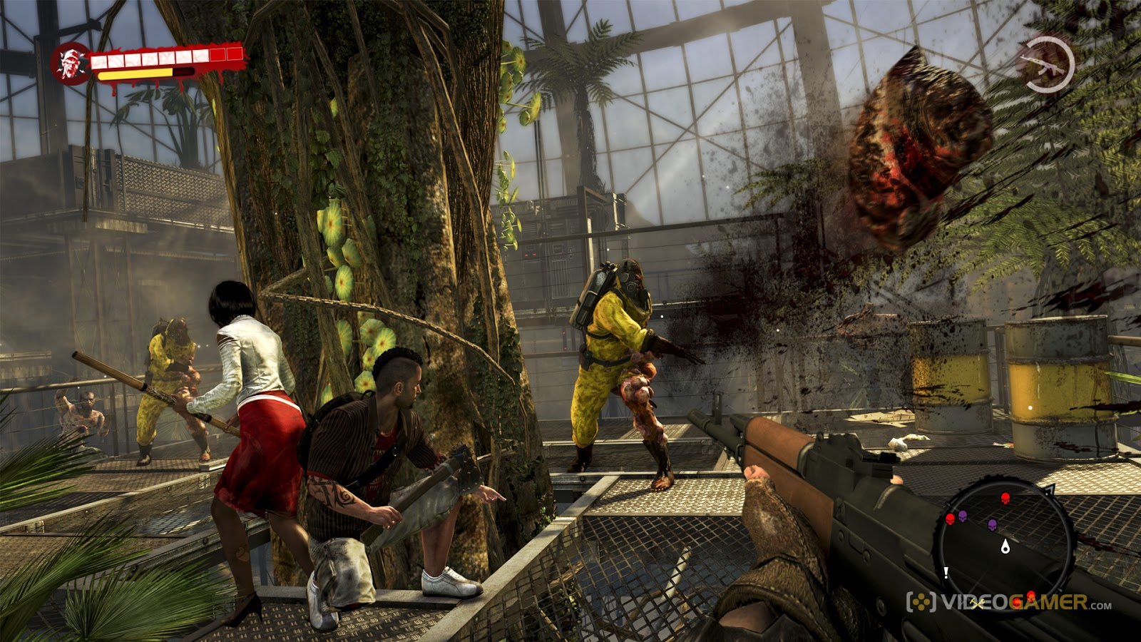 Dead Island Throwing Weapons