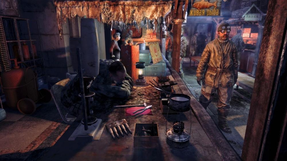 Metro: Last Light Review - Settlements