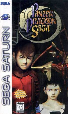 Panzer Dragoon Saga - Box Art