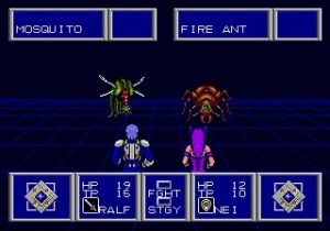 Phantasy Star II - Combat