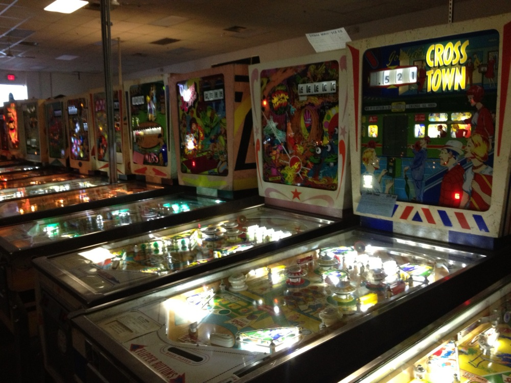 "Pinball Hall of Fame: The ""wedge heads"""