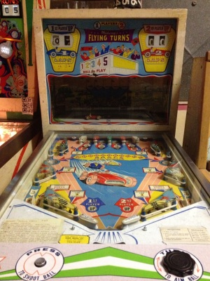 Pinball Hall of Fame: One of the pinballs from the 1960s