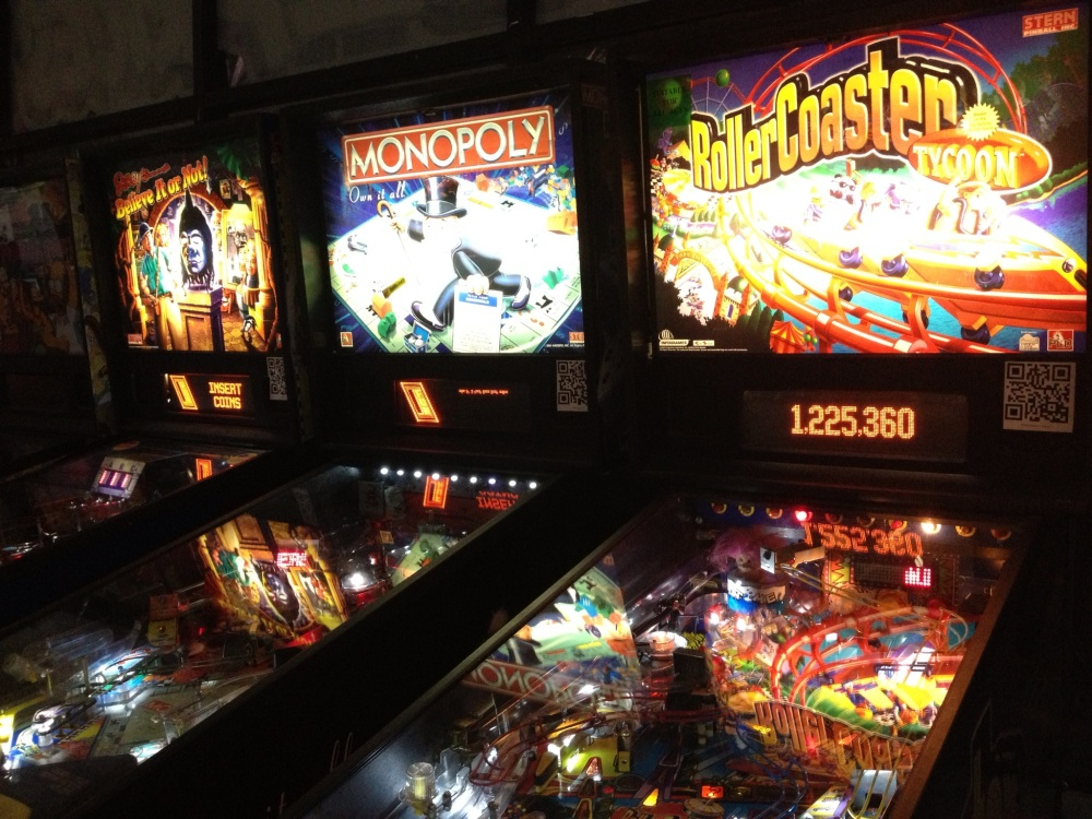 Pinball Hall of Fame: Recognize any brands here?